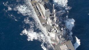 网传美国海军马斯廷号(USS Mustin,DDG 89)资料照片