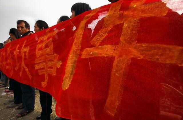 Nông dân phản kháng tại Ô Khảm, 21/12/2011