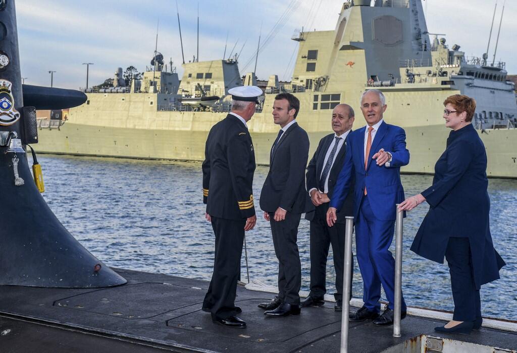 Australie - France - sous-marins