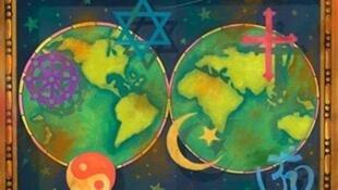 Symboles religieux dans le monde.