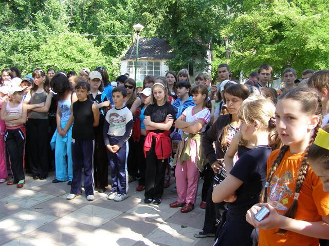 Ученики украинского лицея в Тирасполе