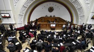 Quốc Hội Venezuela trong một phiên họp ở Caracas, ngày 13/01/2016.
