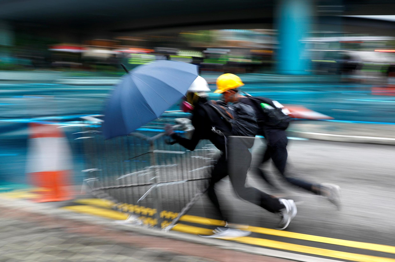 Người biểu tình Hồng Kông ngày 31/08/2019.