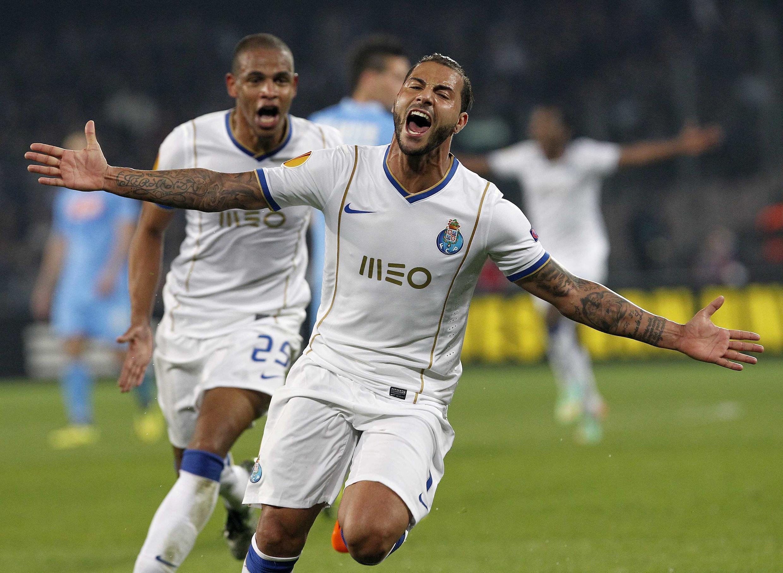Ricardo Quaresma, médio-ofensivo do FC Porto, autor do segundo golo dos azuis-e-brancos frente ao Nápoles.