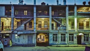 Фасад дома Сиротина на Покровке, 4.