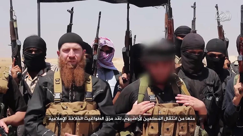 """Ảnh Omar al-Shishani, bí danh """"Omar, người Tchetchenia"""" đăng trên trang web một tổ chức thánh chiến ngày 29/06/2014."""