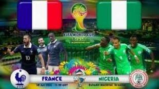 O duelo acabou com a vitória da França
