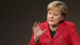 Thủ tướng Đức Angela Merkel trong một hội nghị tại Berlin ngày 06/10/2016.