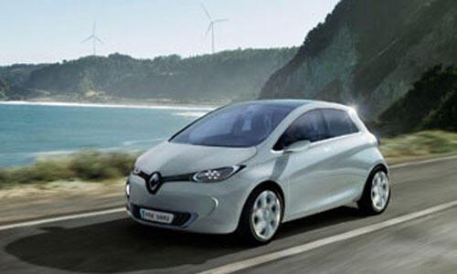 Zoe, la voiture électrique de Renault, une des nouveautés de 2012.