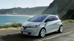 Zoe, la voiture électrique de Renault.