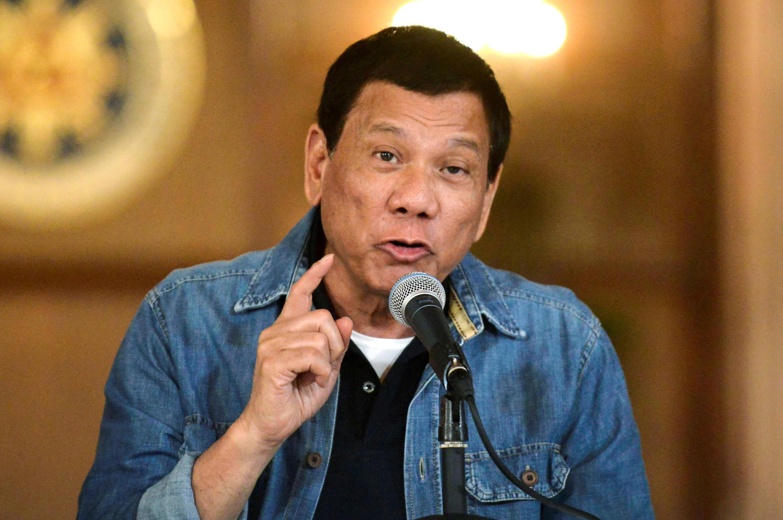 Shugaban kasar Philippines Rodrigo Duterte.