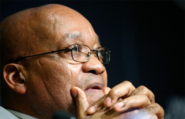 Le président d'Afrique du Sud, Jacob Zuma.