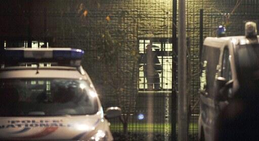 O centro de detenção no norte da França