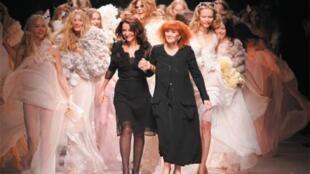 سونیا ریکیل طراح لباس فرانسوی