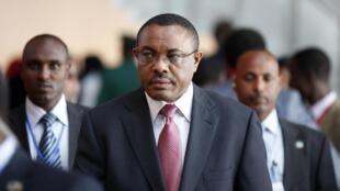 Hailemariam Desalegn, waziri mkuu wa Ethiopia