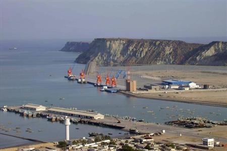 Cảng nước sâu Gwadar của Pakistan, nay do Trung Quốc kiểm soát.
