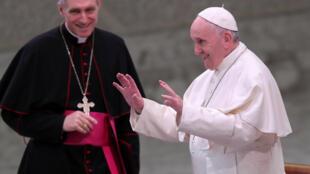 Papa Francisco em sua mensagem anual de Natal para os trabalhadores do Vaticano