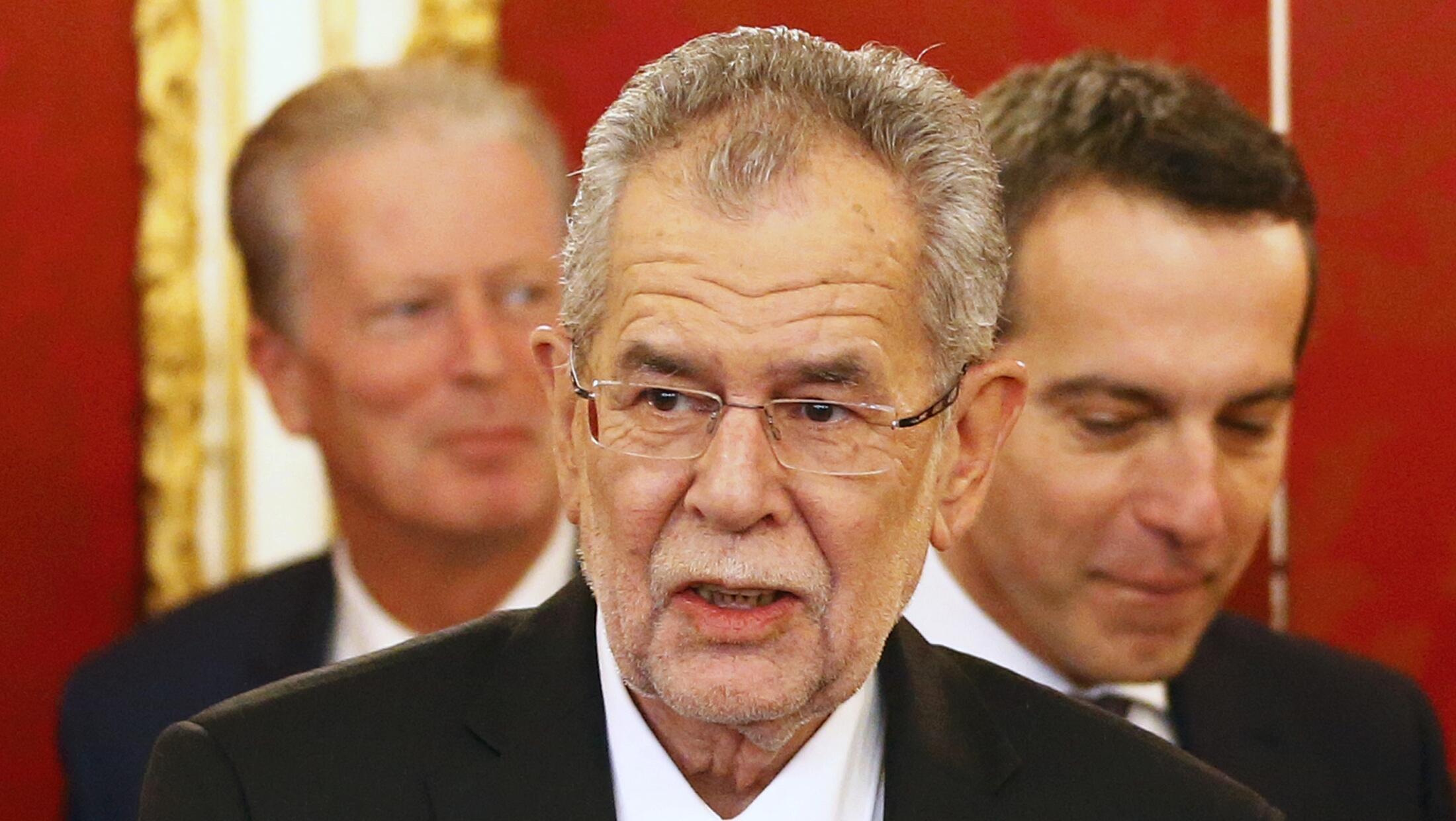 Le nouveau président autrichien Alexander van der Bellen, ici le 26 janvier 2017, a annoncé son intention de refuser de promulguer la loi  validant le Ceta.