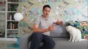 O diretor de cinema brasileiro, Daniel Camargo.