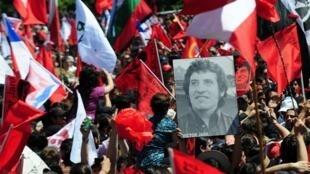 Image d'archive: Avocat de la famille Victor Jara salue l'action de l'état chilien à la réactivation de la demande d'extradition d'un ex-officier