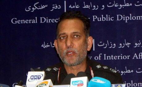 ژنرال ظاهر، فرماندۀ نیروهای امنیتی کابل