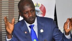 Korarren mukaddashin shugaban hukumar EFCC mai yaki da rashawa a Najeriya Ibrahim Magu.