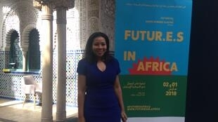 Rebecca Enonchong est à la tête d'Afrilab, un réseau des incubateurs africains.