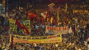 Belém, Brésil, le 17 juin 2013.