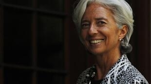 La directrice du Fonds monétaire international, Christine Lagarde.