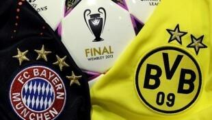 Tambarin Kungiyar Bayern Munich da Borussia Dotmond na Jamus