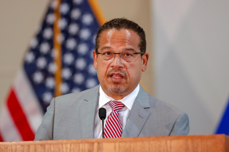 O procurador-geral, Keith Ellison, responsável pela investigação da morte de George Floyd.