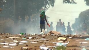 La journée du 22 mars 2020 a été marquée par des heurts en Guinée à l'occasion du double scrutin.
