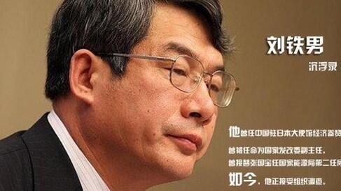 """资料照片:通过""""西山会""""步步高升的刘铁男"""