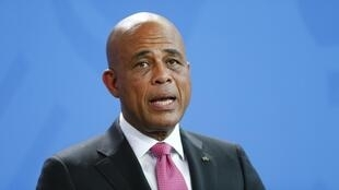 Michel Martelly, président d'Haïti.