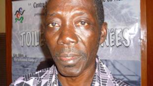 Le réalisateur Ibrahima Touré après la première de son film «La Toile d'Araignée» au 23e Fespaco.