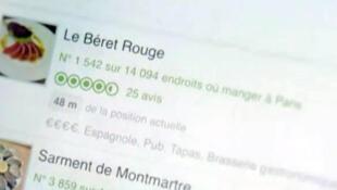 Em duas semanas, Le Béret Rouge se tornou um dos restaurantes mais recomendados de Paris no TripAdvisor.