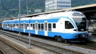 Le train qui reliera les villes d' Alger et de Tizi-Ouzou.