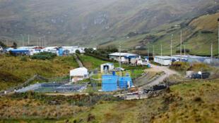 Proyecto de la mina Conga de la empresa Yanacocha, en la provincia de Celendín en Cajamarca (Perú)