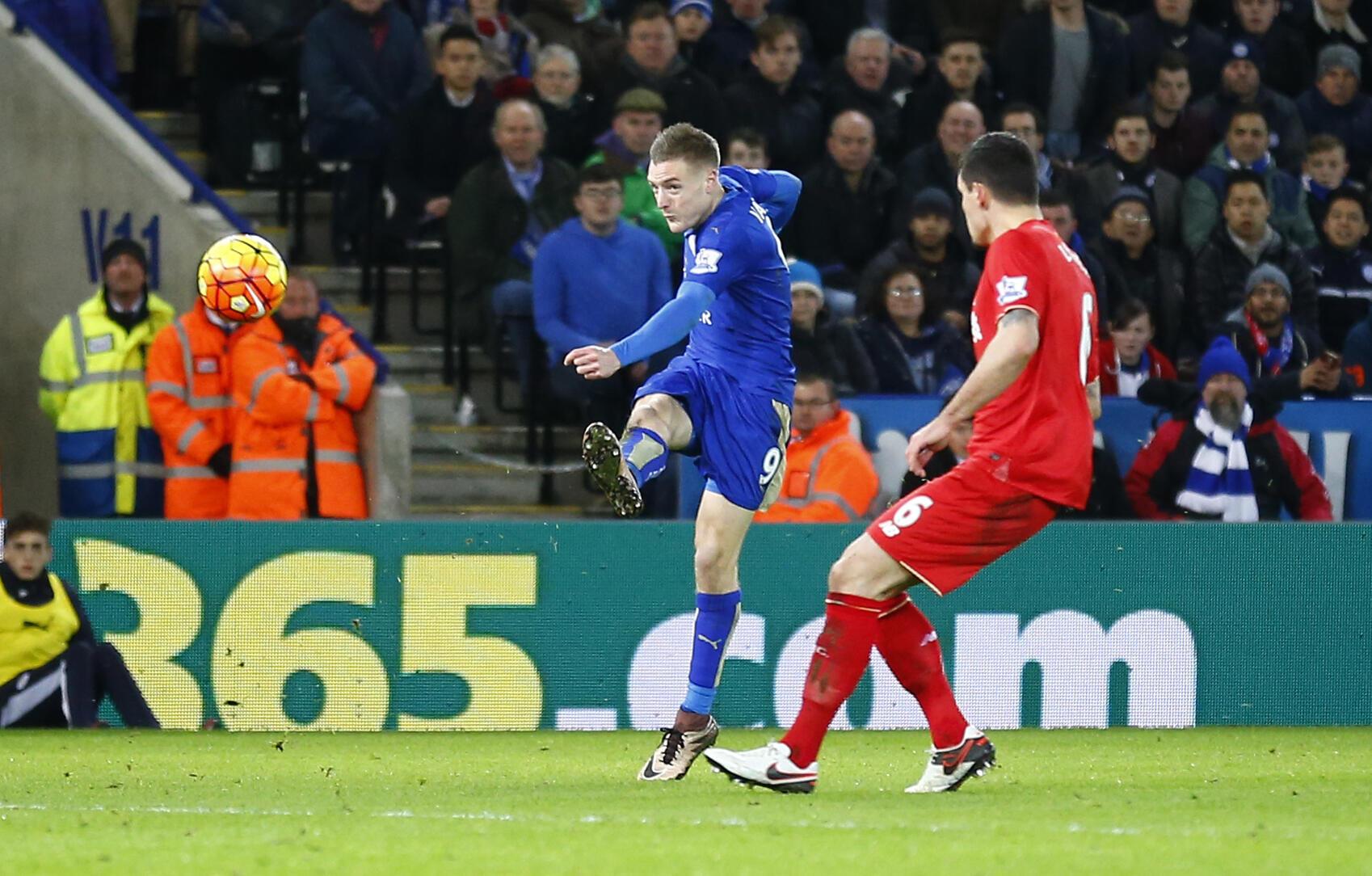 Jamie Vardy ya taimaka wav Leicester City a nasarar da ta samu har ta lashe kofin Premier a karon farko tun bayan kafuwarta shekaru 132 da suka gabata.