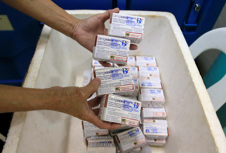 Vaxin chống sốt xuất huyết của hãng dược phẩm Pháp Sanofi bị cấm tại Philippines.
