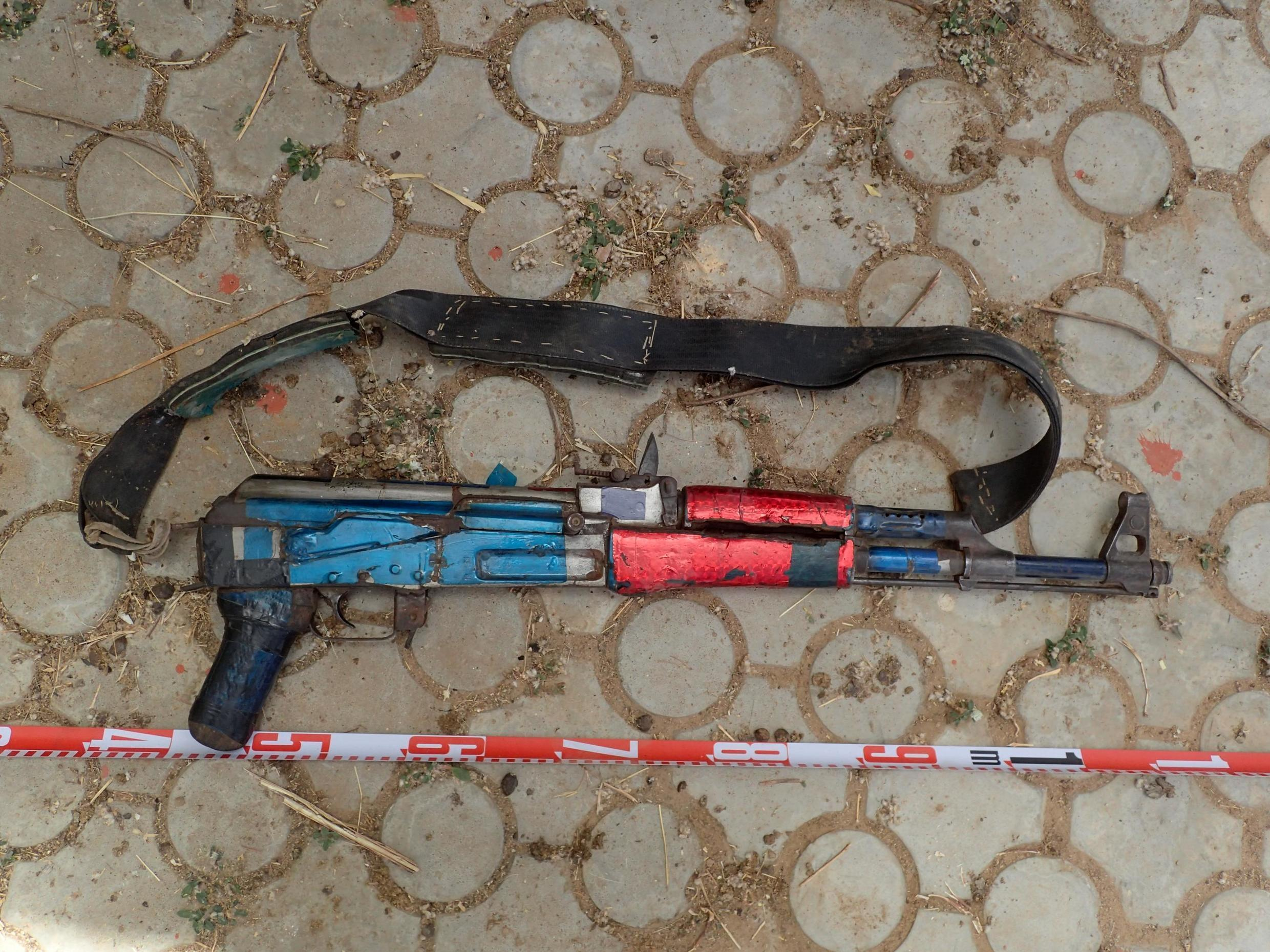 Chinese-manufactured assault rifle seized from Buharin Daji armed group in Shinkafi Local Government Area, Zamfara State, Nigeria, documented by Conflict Armament Research in March 2018.