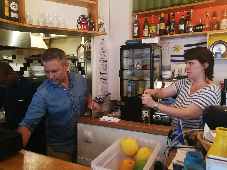 Restaurante Le Comptoir Montevideo en París