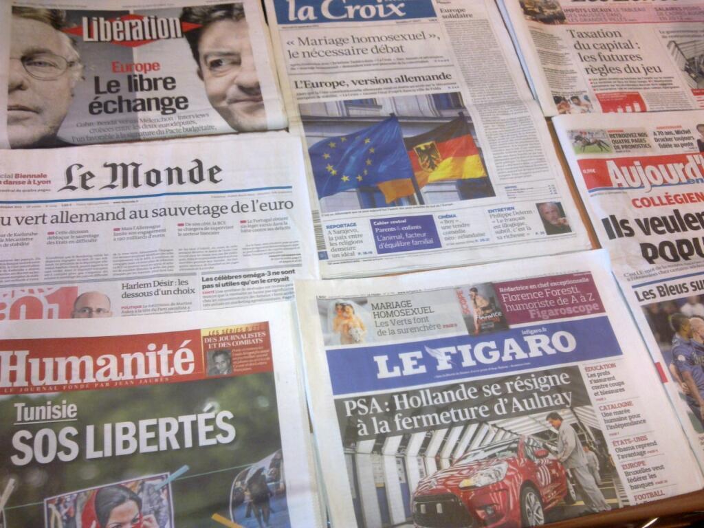 Diários franceses   12/09/2012