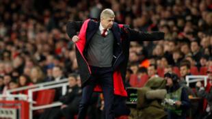 Le Français Arsène Wenger, entraîneur d'Arsenal.