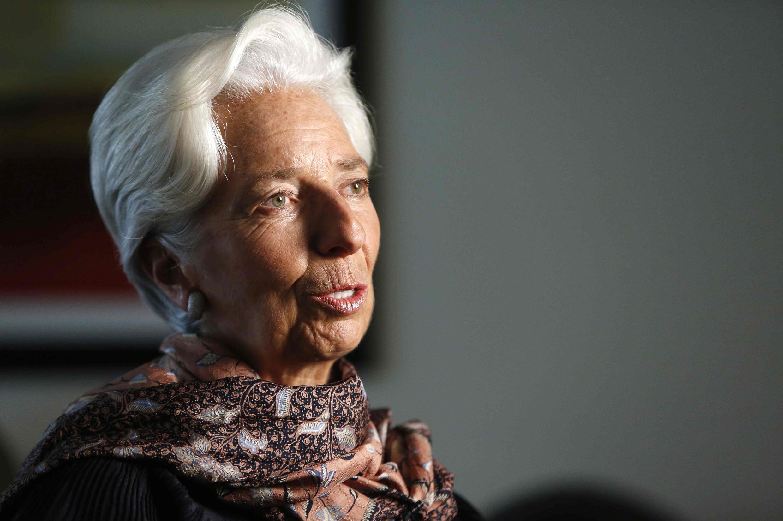 Christine Lagarde, directora geral do FMI, ex ministra francesa da economia