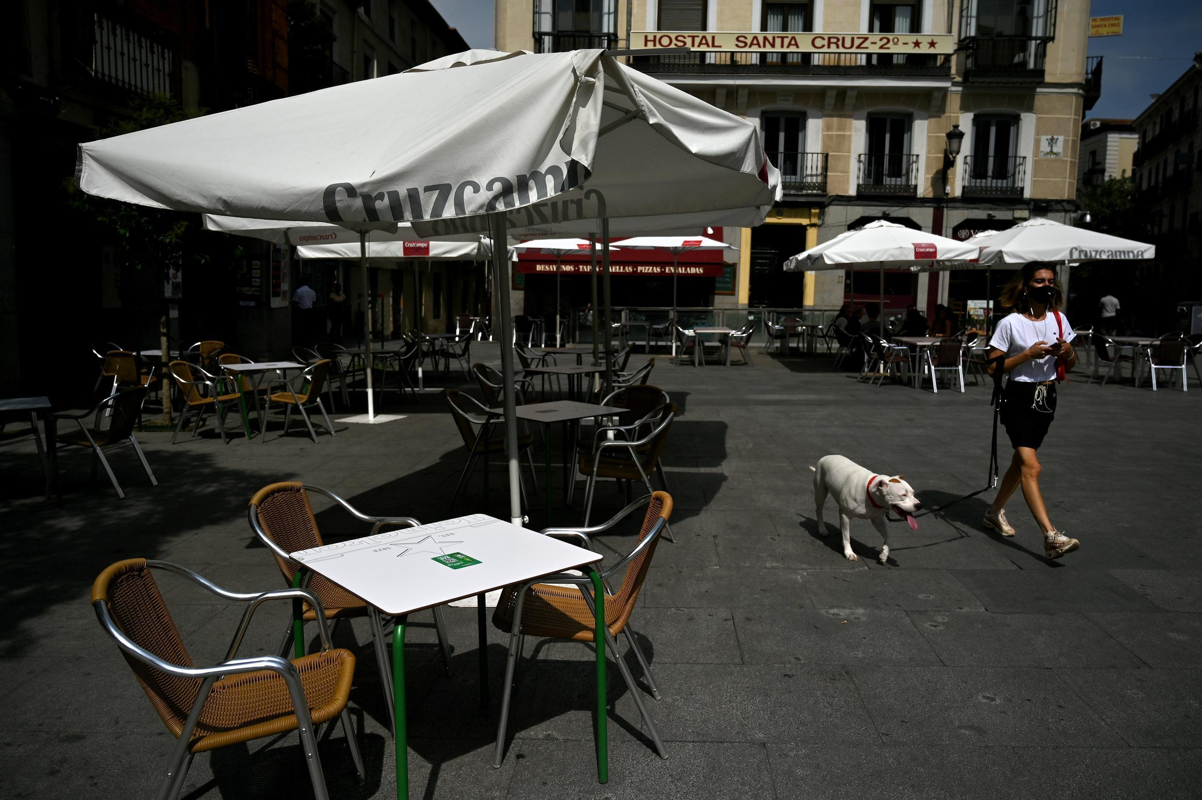 In several areas in and around Madrid, there are more 1,000 cases per 100,000 inhabitants