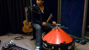 David Walters au studio 136
