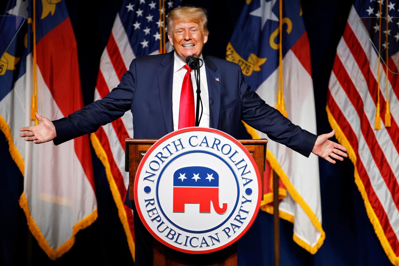 trump greenville républicains