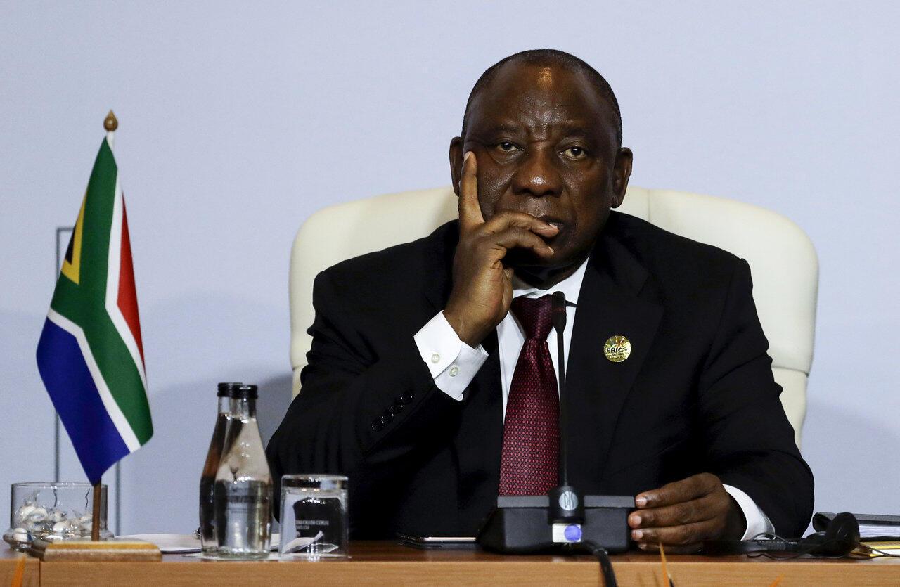 Cyril Ramaphosa Shugaban Afrika ta kudu