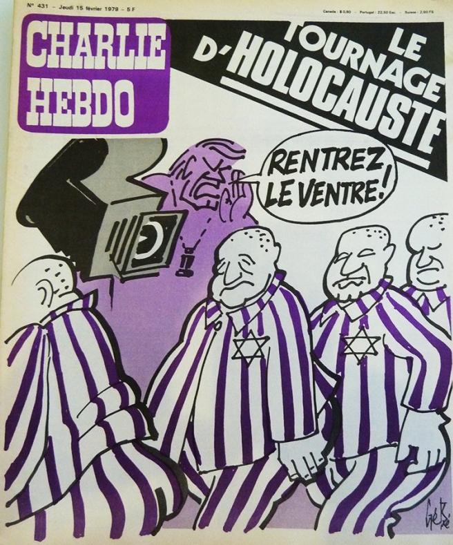 Первая полоса «Шарли Эбдо» 15 февраля 1979 года.